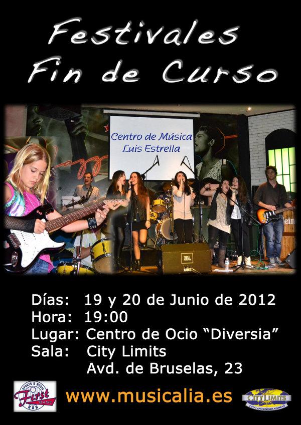 Musicalia - Concierto fin de curso 2012
