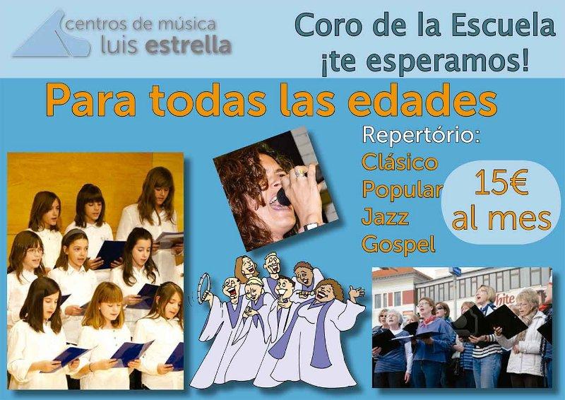 Coro Centros de Música Luis Estrella - Musicalia