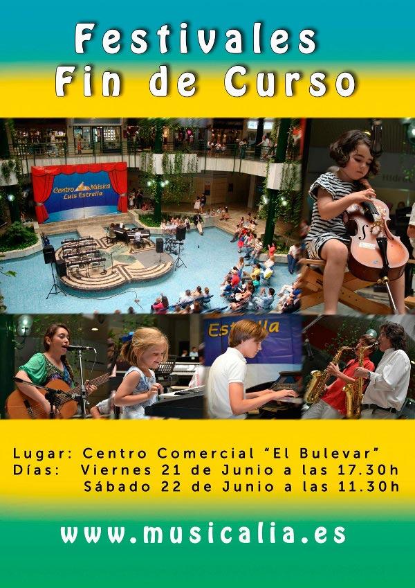 Festival Fin de Curso - Musicalia - Junio 2013